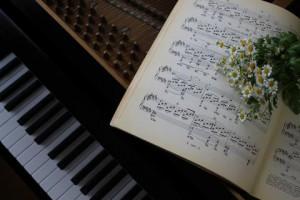 ピアノ楽譜写真