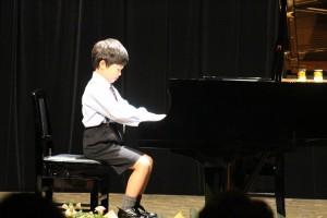ピアノ発表会R君