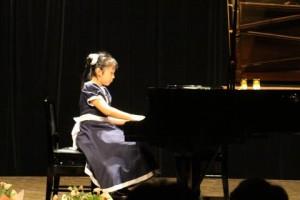 ピアノ発表会Kちゃん