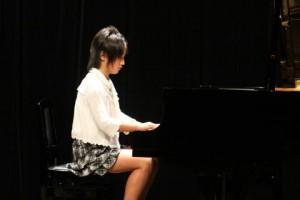 ピアノ発表会Hちゃん