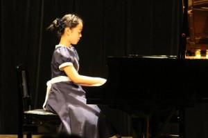 ピアノ発表会Sちゃん