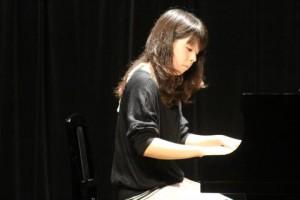 ピアノ発表会Mちゃん
